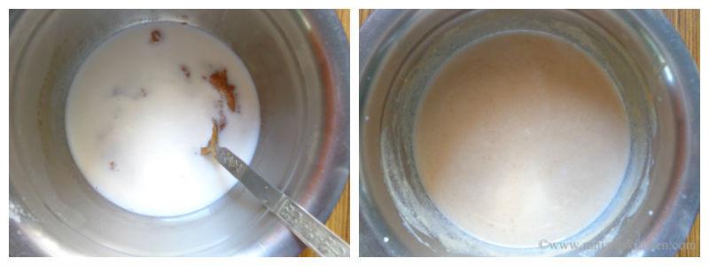 How to prepare sapota milkshake