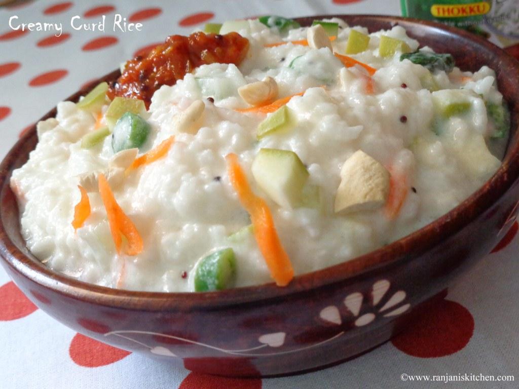 Curd Rice | Thayir Sadam