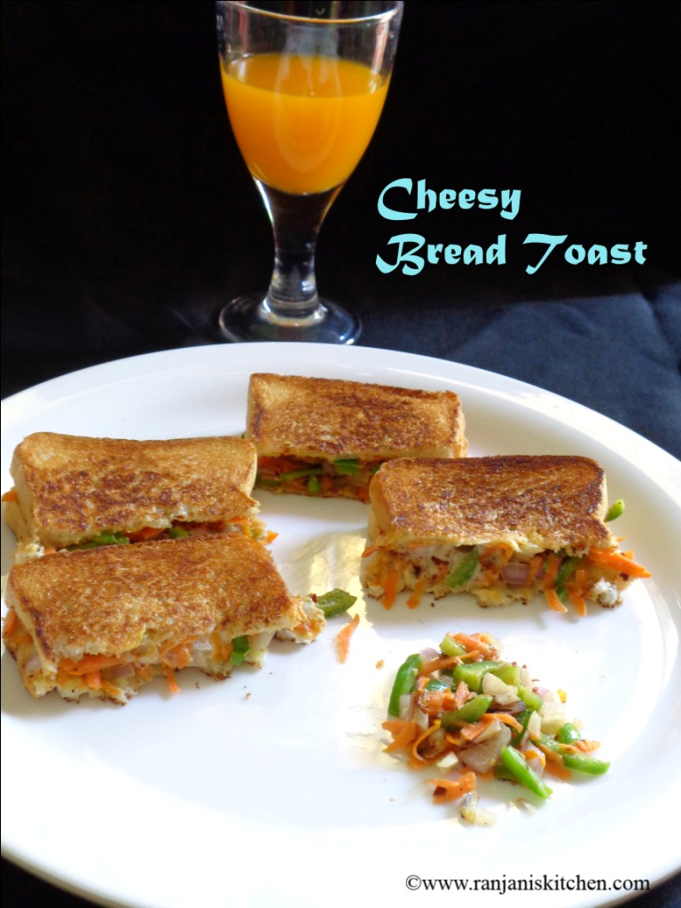 Cheesy bread toast