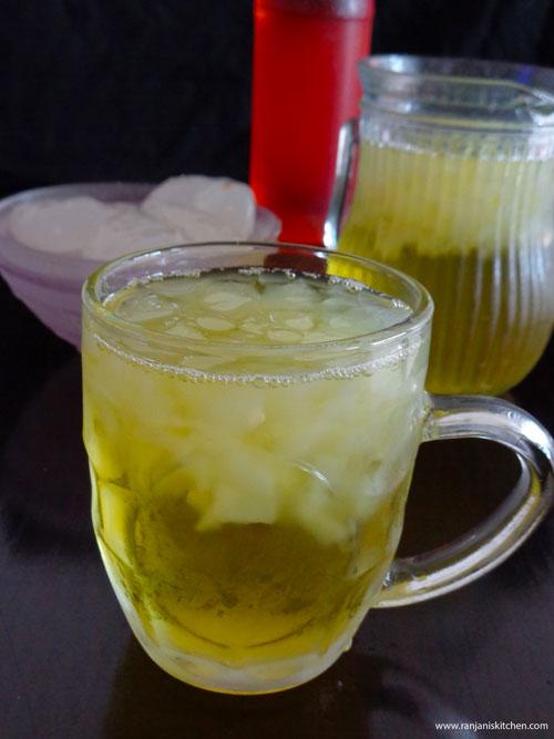 Nungu Sarbat Recipe|Easy Summer Recipes