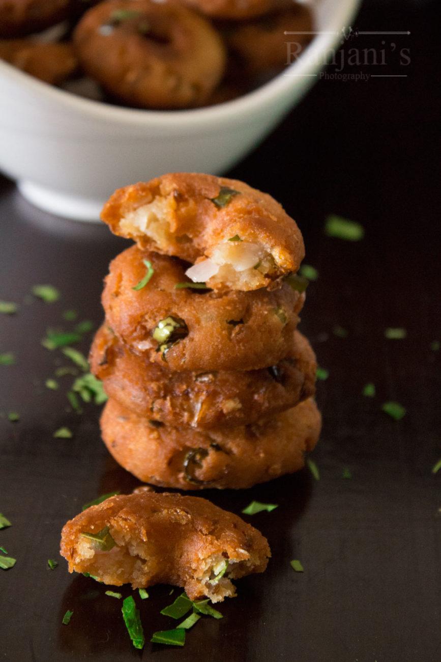 Bread vada recipe  | instant bread medu vada recipe